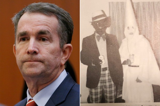 Image result for virginia governor black face
